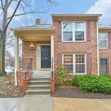 Rental info for A Rare Price And Location-4Br/3. 5Ba Townhome in the Alexandria area