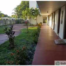 Rental info for JUST RENOVATED UNIT ON GROUND FLOOR-55+ AND OVER ONLY COMMUNITY, WITH POOL AND RECREATION AREA VERY QUIET in the Lauderdale Lakes area