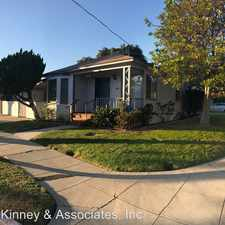 Rental info for 4641 EAST 14TH STREET in the Long Beach area