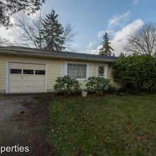 Rental info for 5066 SE Rainbow Ln in the 97206 area