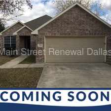 Rental info for 7312 Sierra Way in the South East Dallas area