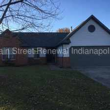 Rental info for 5926 Terrytown Parkway in the 46278 area