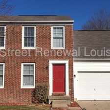 Rental info for 11101 Meadow Chase Court in the Louisville-Jefferson area