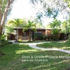 Rental info for 174 Orange Ave N in the 33710 area