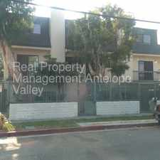 Rental info for Gated 2+2 Townhouse in North Hills in the Los Angeles area
