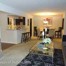 Rental info for 124 Optimist Court in the 48309 area