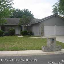 Rental info for 4426 Brushy Hill in the San Antonio area