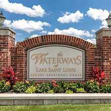 Rental info for Waterways Apartments of Lake St. Louis in the O'Fallon area