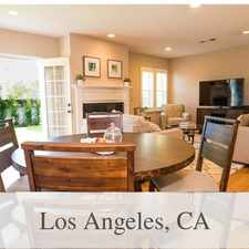 Rental info for Lease Spacious 3+2. Approx 1,602 Sf Of Living S... in the Los Angeles area