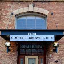 Rental info for Goodall-Brown Lofts in the Central City area