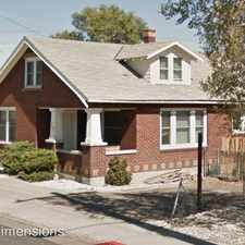 Rental info for 218 Keystone Ave. in the Reno area