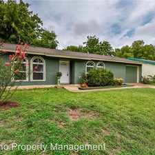 Rental info for 9906 Dorset Drive in the Austin area