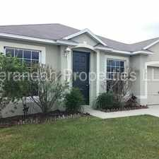 Rental info for Beautiful 4/2 Home Located in Sunset Ridge - Davenport