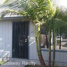 Rental info for 1275-1281 Granger Street in the San Diego area
