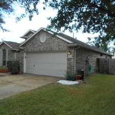 Rental info for Spectacular 3 Bedroom Home In Riverstone Ranch in the Houston area