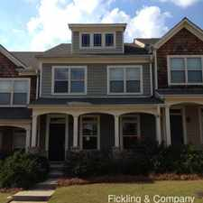 Rental info for 172 Cold Creek Pky
