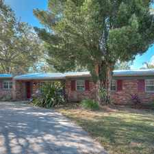 Rental info for Charming Brick Ranch with Sparkling Pool! in the Tampa area