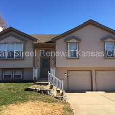 Rental info for Wonderful home in Belton MO in the Kansas City area