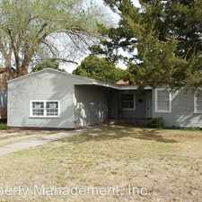 Rental info for 2820 35th Street in the Lubbock area