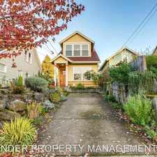 Rental info for 3626 NE 8TH AVE in the Portland area