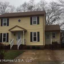 Rental info for 1585 Boles Place in the Virginia Beach area