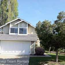 Rental info for 1314 Pietro Dr. in the San Jose area