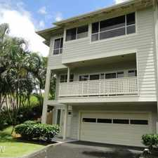 Rental info for 1294 D Moanalualani Ct.