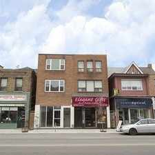 Rental info for 904A Bloor Street West in the Palmerston-Little Italy area