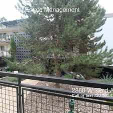 Rental info for 2860 W 32nd Ave in the Denver area