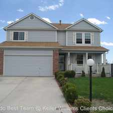 Rental info for 5277 Water Dipper Road in the Security-Widefield area