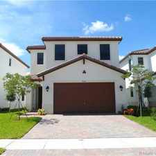 Rental info for 9084 SW 36th St in the Miramar area