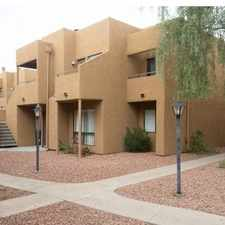 Rental info for Fully Furnished 2Bdm 2Ba End Unit - MI Special in the Phoenix area
