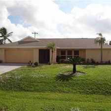 Rental info for 3802 SE 7th AVE Cape Coral Three BR, WOW! Fantastic POOL home has