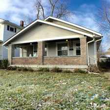Rental info for 892 North Gladstone Avenue in the Indianapolis area