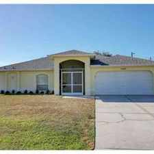 Rental info for 2934 SE 8th PL Cape Coral, Immaculate Three BR Two BA home