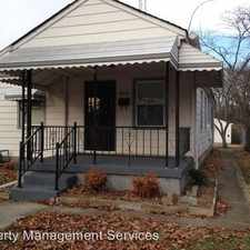Rental info for 4530 Farrington Ave in the Indianapolis area