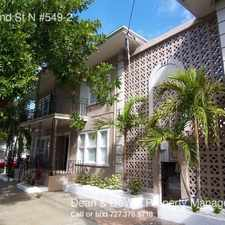 Rental info for 535 2nd St N #549-2 in the St. Petersburg area