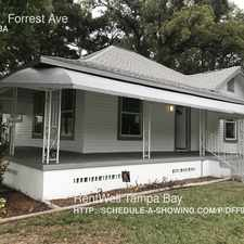 Rental info for 702 E. Forrest Ave in the Tampa Heights area