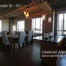 Rental info for 710 Colorado St in the Austin area