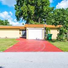 Rental info for 7019 NW 63RD ST in the 33321 area