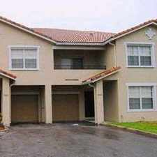 Rental info for 1 Belmont Lane in the North Lauderdale area