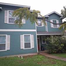 Rental info for 5402 Martin Ave in the Austin area
