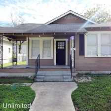 Rental info for 828 Burleson in the San Antonio area
