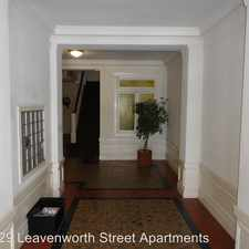 Rental info for 729 Leavenworth Street #33 in the Lower Nob Hill area