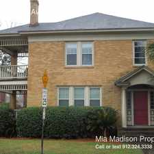 Rental info for 501 E Maupas Ave in the Savannah area