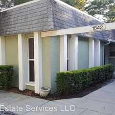 Rental info for 1844 East Drive in the Old Seminole Heights area