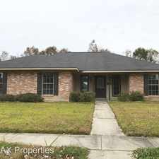 Rental info for 15927 Woodwick Ave in the Baton Rouge area