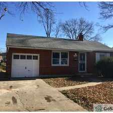 Rental info for This is a great 3 be done home on a quiet street in the St. Louis area