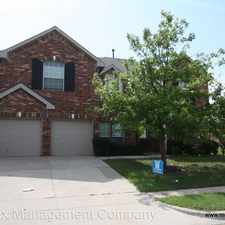 Rental info for 11609 Pheasant Creek Dr. in the Fort Worth area