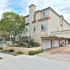 Rental info for Multi-level Bixby Knolls Townhome with Private 2 Car Garage! in the Long Beach area
